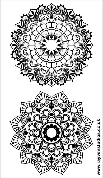 Texture Mat - Full Mandala