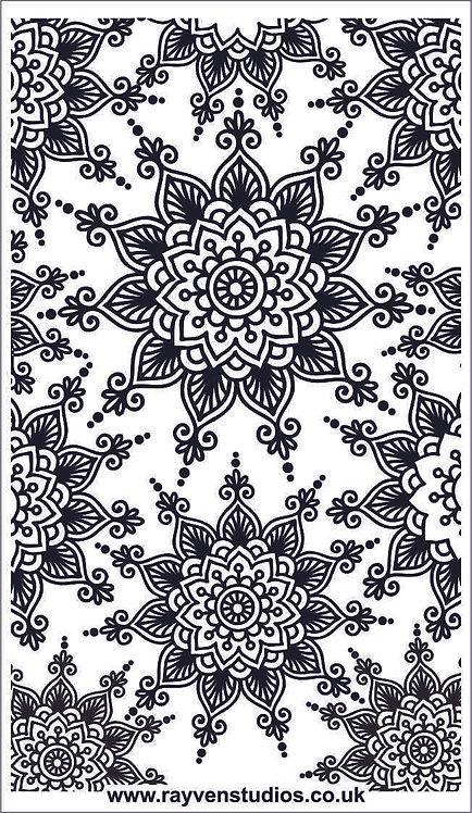 Texture Mat - Mandala Fine