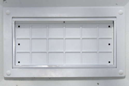 FFNF05TF-GD-W  Flood Flaps Garage Door model WHITE