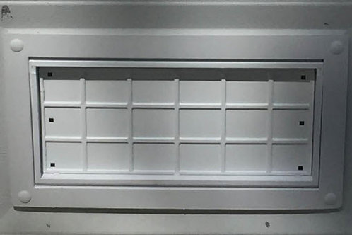 FFNF05TF-GD-G  Flood Flaps Garage Door model Gray