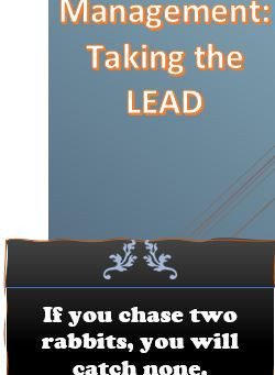 Priority Management: Taking the LEAD