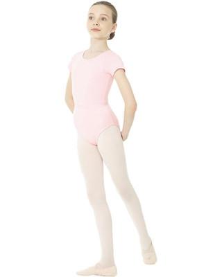 Mondor 1635 Short Sleeve Leotard - Pink