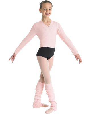 Bloch CZ0999 Knit Wrap Sweater - Pink