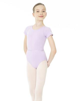 Mondor 1635 Short Sleeve Leotard - Lilac