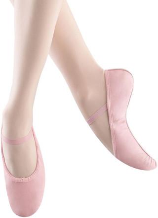 Bloch SO2255G Bunny Hop Leather Full Sole Ballet Slipper - Pink