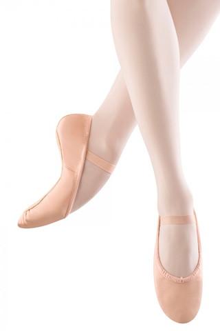 Bloch SO205 Dansoft Leather Full Sole Ballet Slipper - Pink