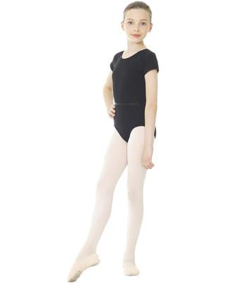Mondor 1635 Short Sleeve Leotard - Black