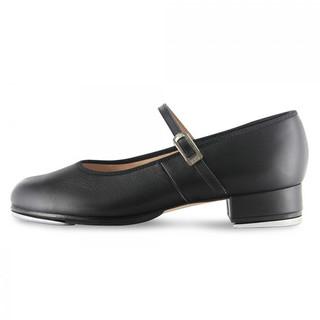 Bloch SO302 Tap On Leather Buckle Tap Shoe - Black