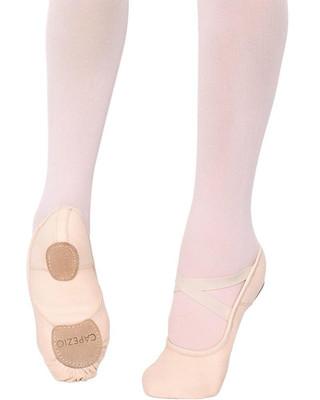 Capezio 2037 Hanami Canvas Split Sole Ballet Slipper - Pink