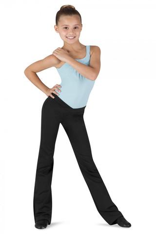 Bloch CP1608 Raquel Jazz Pants - Black