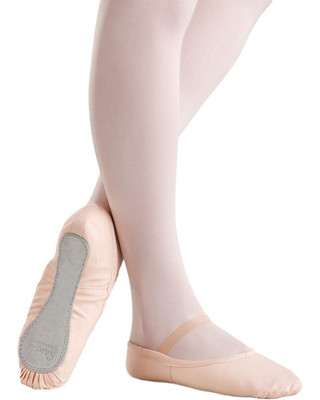 Sansha 14C Star Canvas Full Sole Ballet Slipper - Pink