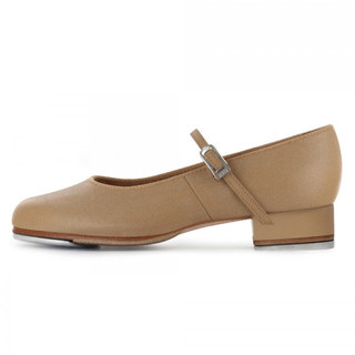 Bloch SO302 Tap On Leather Buckle Tap Shoe - Tan