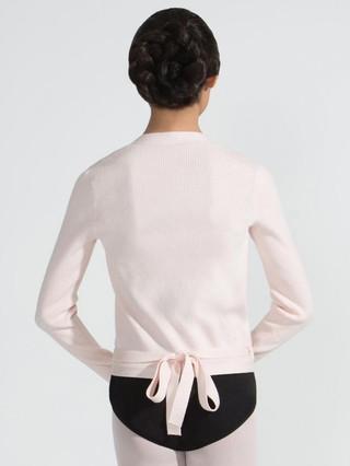 Capezio 11381W Ribbed Knit Wrap Sweater
