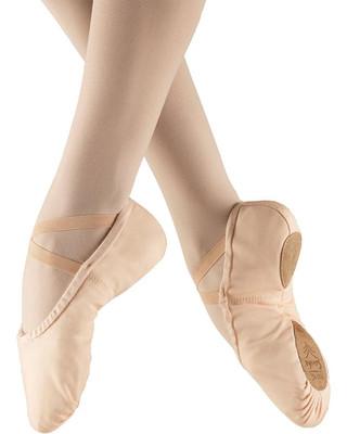 Sansha 1C Pro Canvas Split Sole Ballet Slipper - Pink