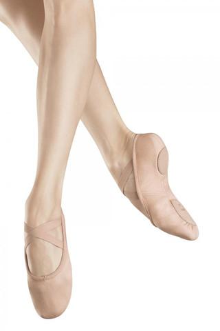 Bloch SO282 Zenith Stretch Canvas Split Sole Ballet Slipper - Pink