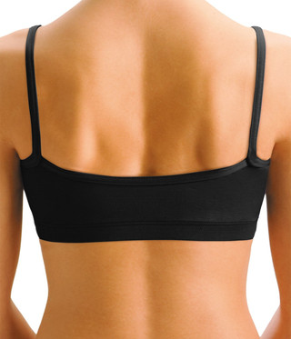 Motionwear 3125 Camisole Bra Top - Black