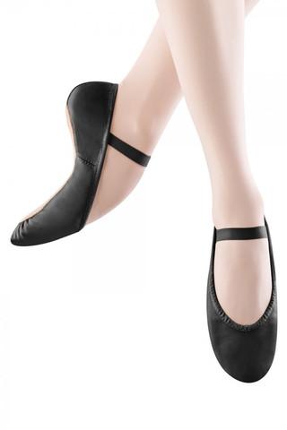 Bloch SO205 Dansoft Leather Full Sole Ballet Slipper - Black