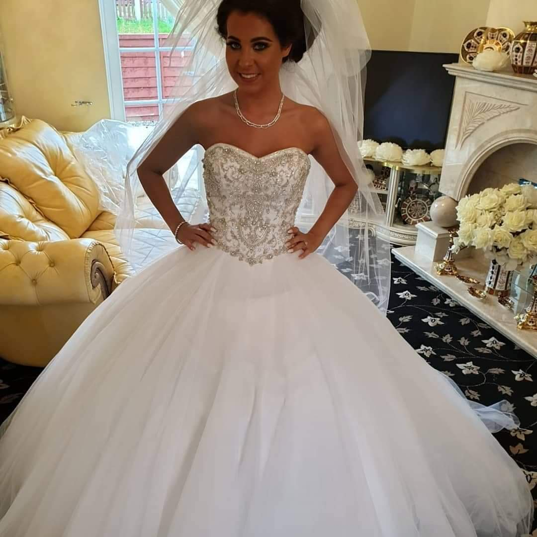Shannon in a Verise gown