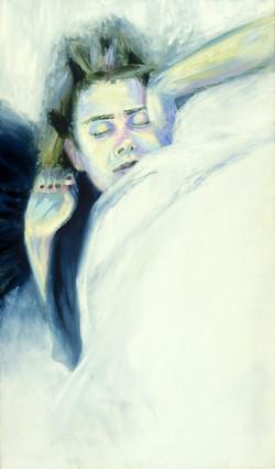 Sleeping self portrait