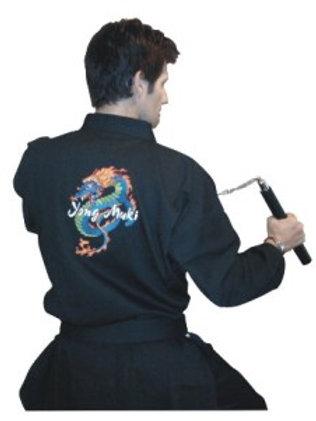 Yong Muki uniform and belt