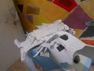 Art education/animation ws of actual exhibition/contemporary art