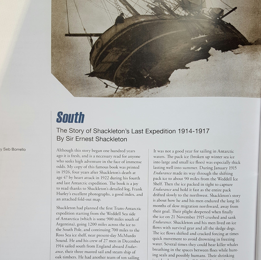 SS Endurance article