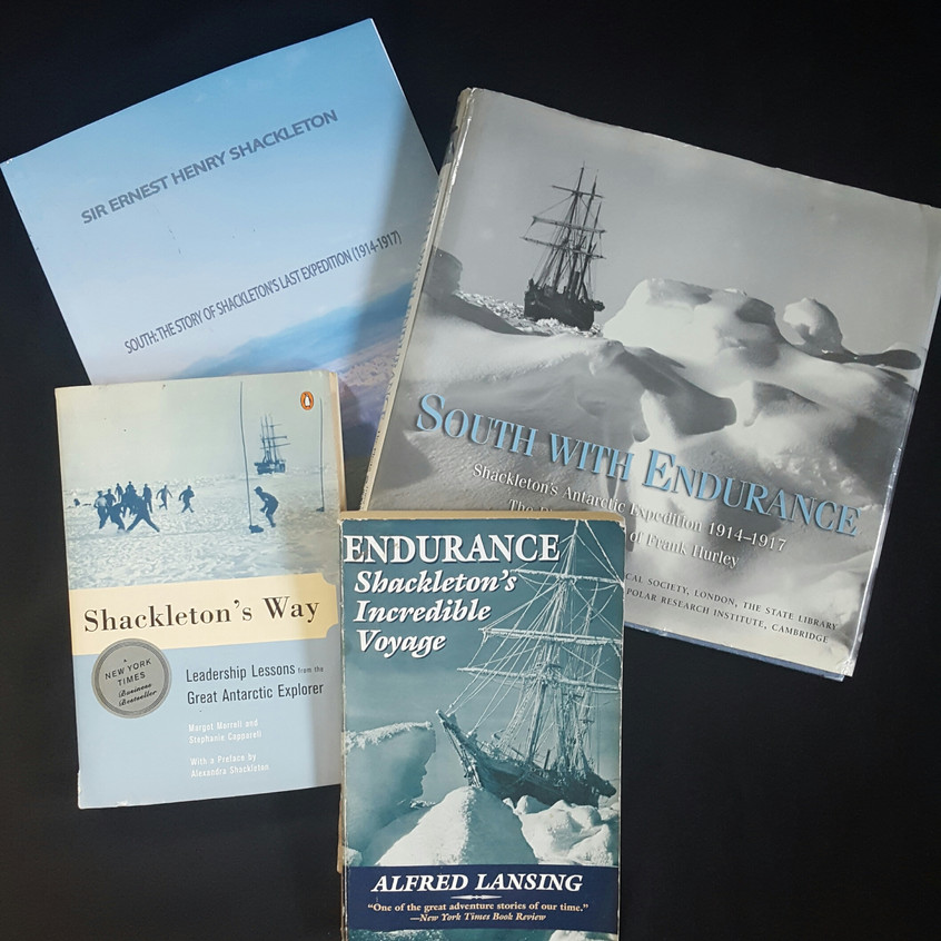Shackleton and SS Endurance books