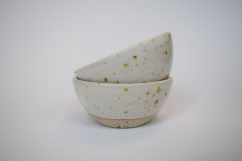 Small Freckled Bowls x 2 - Transparent