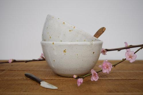 Large Freckled Bowls x 2
