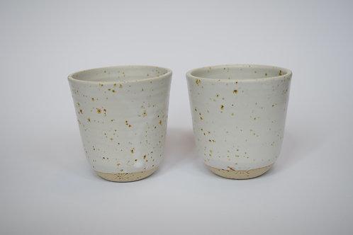 Freckled Cups x 2 - Transparent