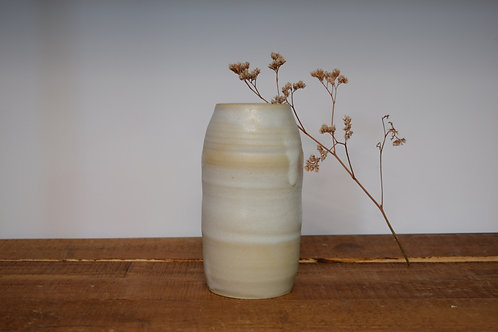 Wavy Snow Vase