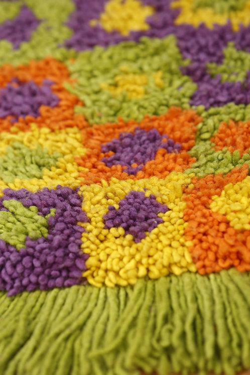 Taller de alfombras a telar