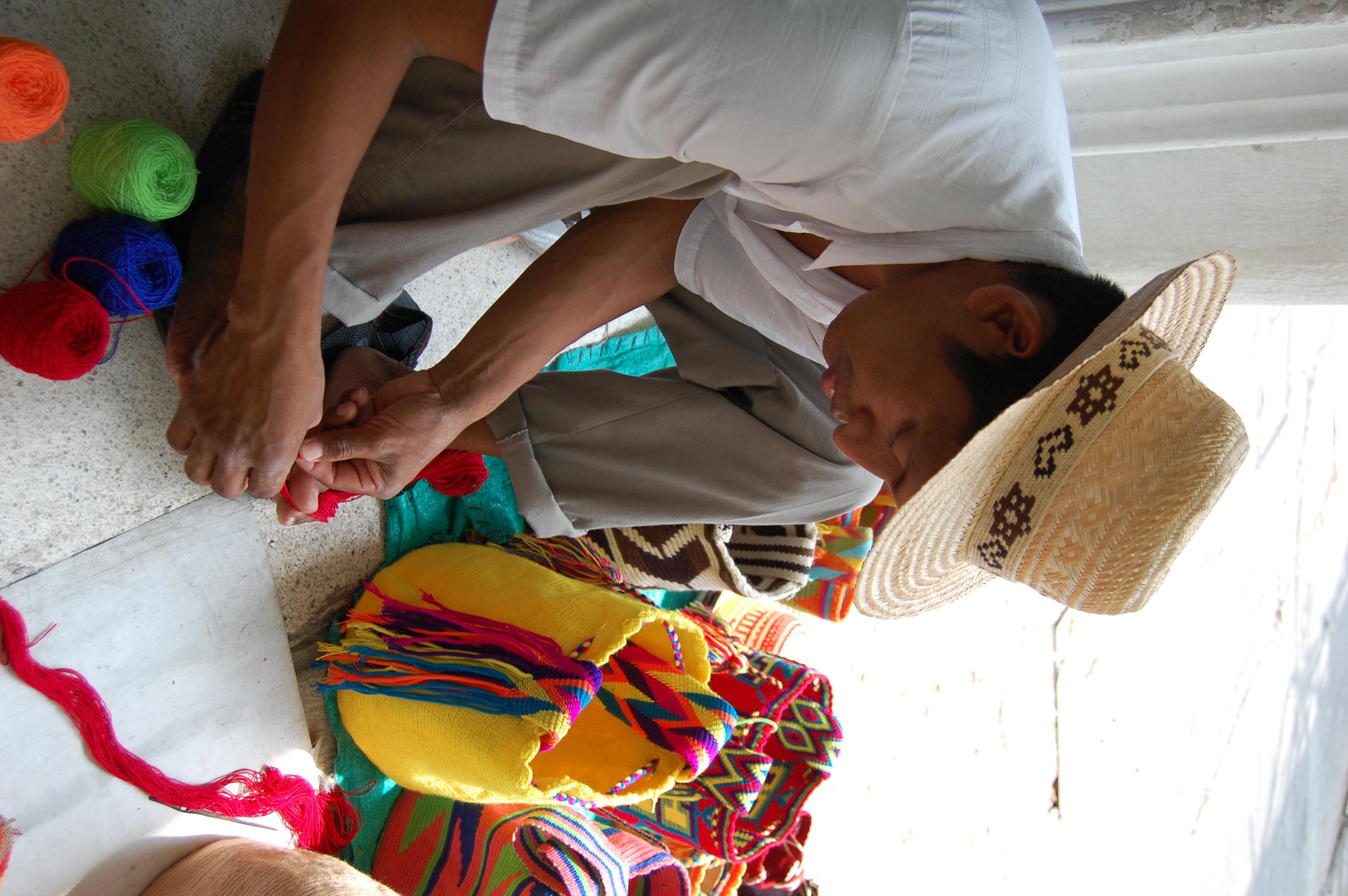 Alvaro, mi profe Wayuu
