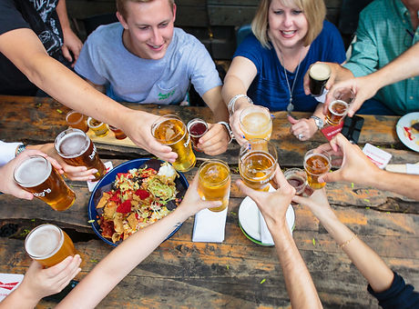 Toronto beer tour and nachos cheers
