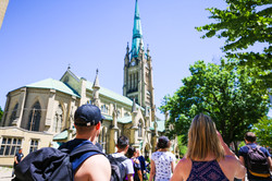 Old Town Toronto History Tour St James Cathedral
