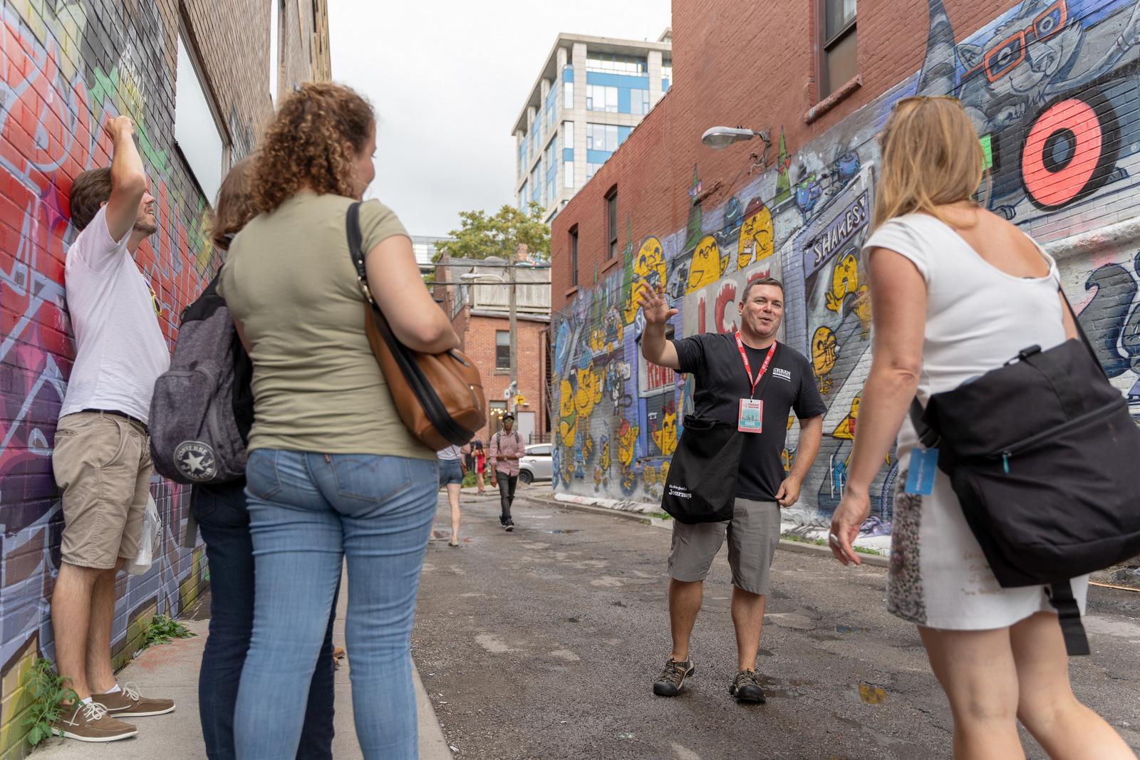 Graffiti Alley Toronto Tour Guide Jason