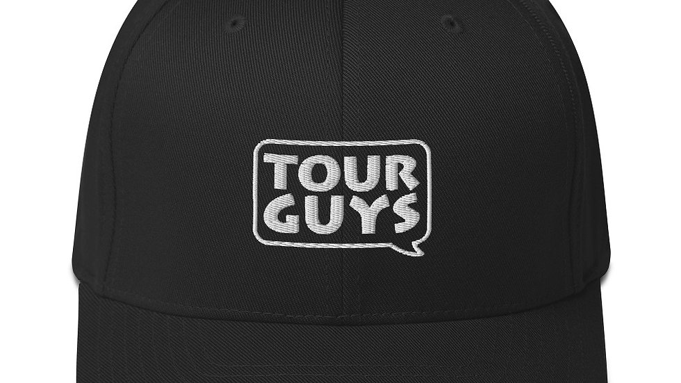 TOUR GUYS (Outline Logo) Structured Twill Cap