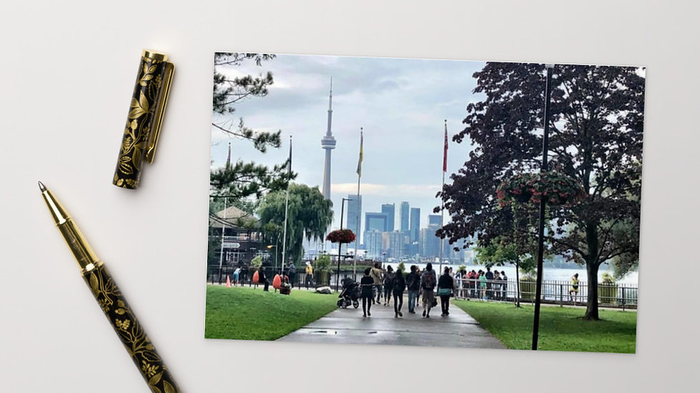 "Standard Postcard - ""Toronto Islands"""