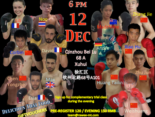 Rawee Fight Night - Round Two