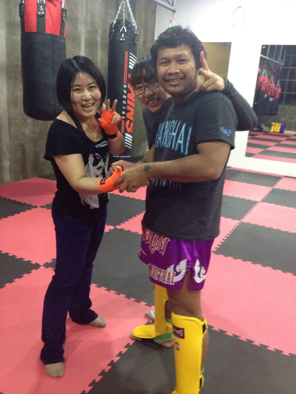 Rawee Muay Thai Shanghai Training 11