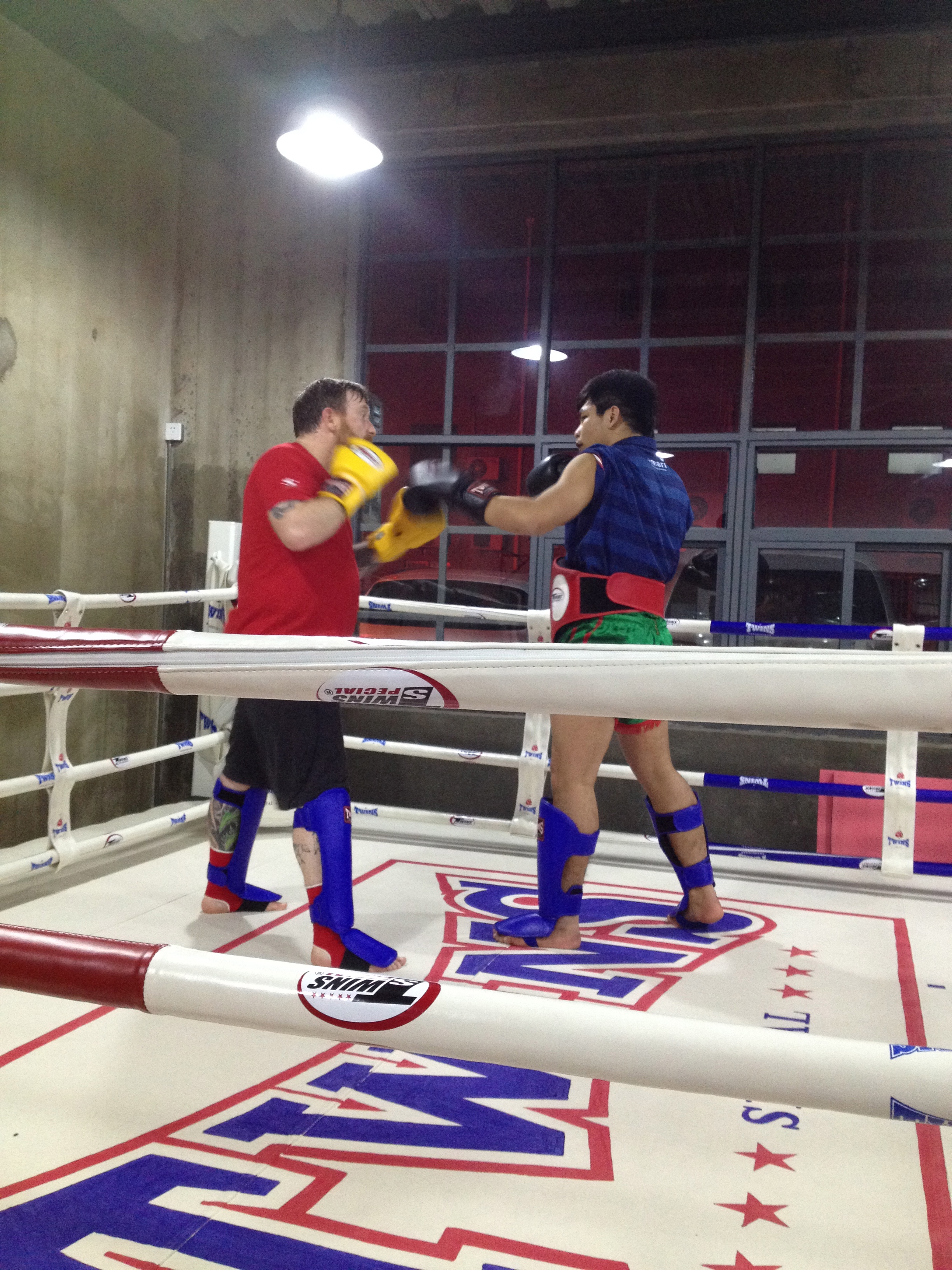 Rawee Muay Thai Shanghai Training Si