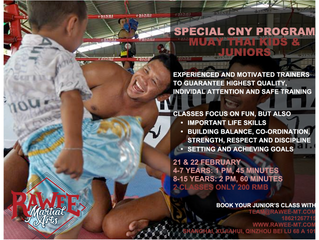 UPDATE: CNY Special Junior Program