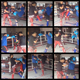 Saturday Muay Thai sparring session at Rawee Martial Arts in Shanghai