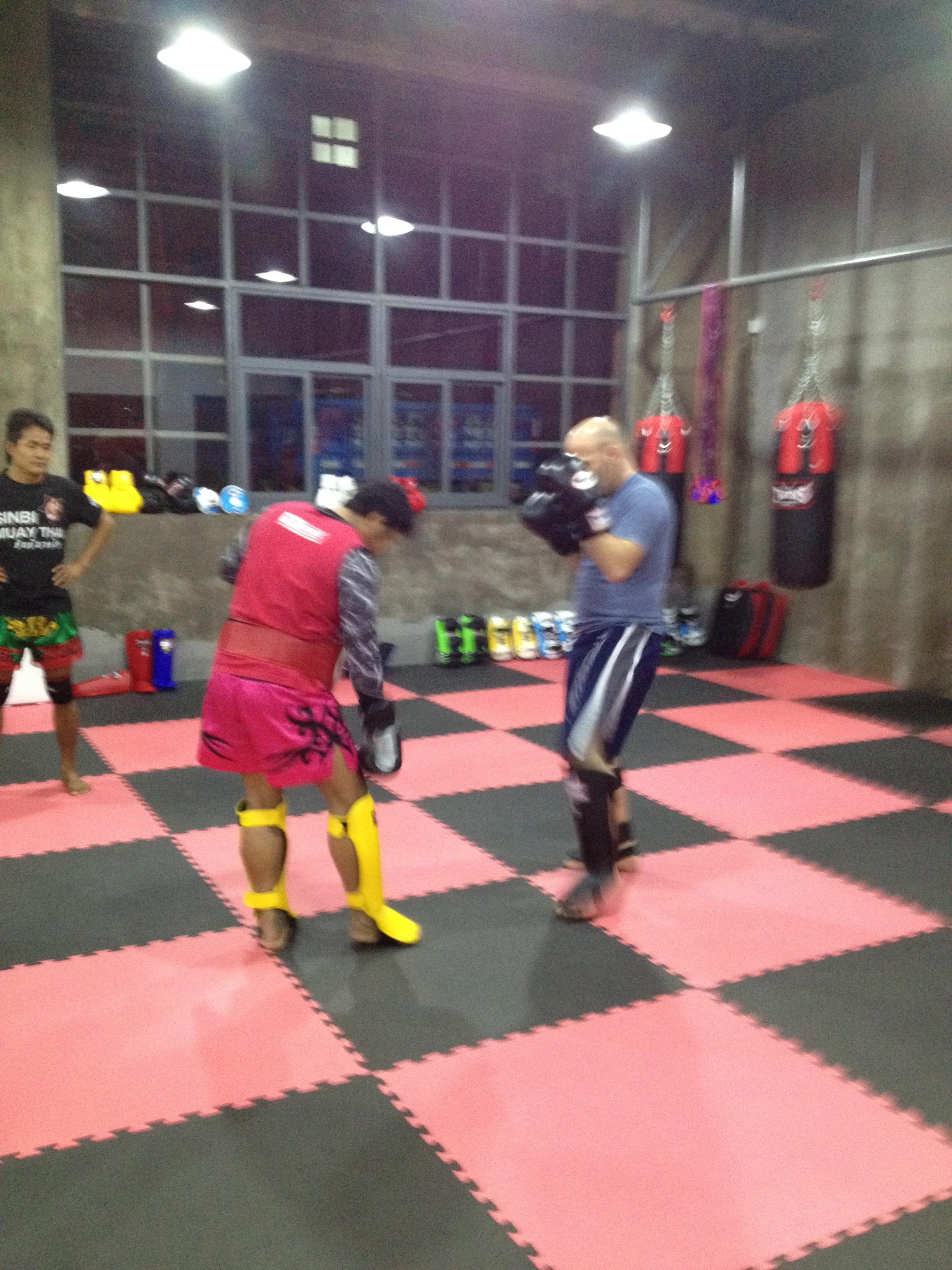 Rawee Muay Thai Shanghai Training Ke