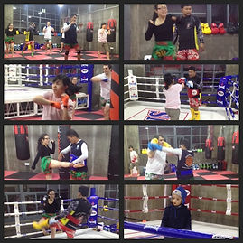 Friday Muay Thai beginners training at Rawee Martial Arts in Shanghai