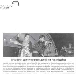 Banda Sturm und Drang, 2013
