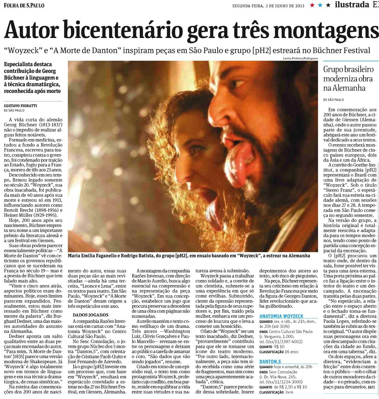 Stereo Franz na Folha de SP