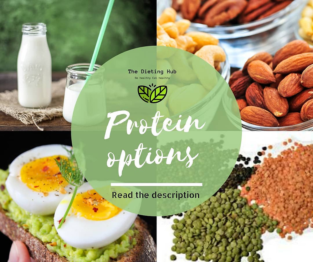 How to get proteins ? | Proteins sources | Proteins options