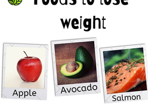 Food that help in weight loss