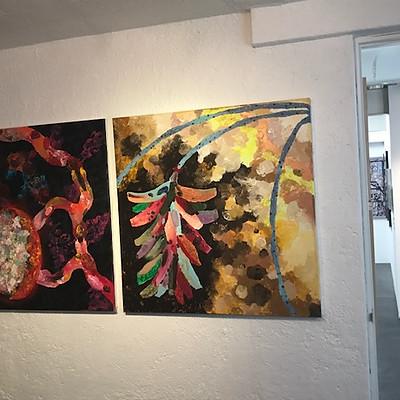 Exposition à la galerie Nina Menocal